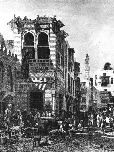 Popular Schools in the Heart of Cairo, Egypt, 1880--Giclee Print