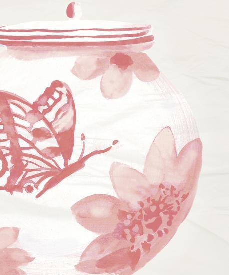 Porcelain Fencai II-Sandra Jacobs-Art Print