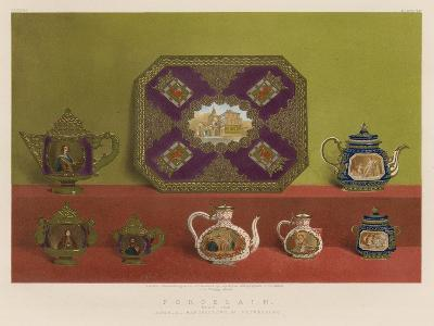 Porcelain from the Imperial Manufactory, St Petersburg--Giclee Print