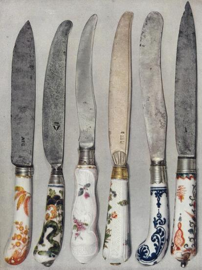 'Porcelain Knife Handles', 1912-Unknown-Giclee Print