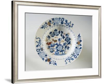 Porcelain Plate--Framed Giclee Print