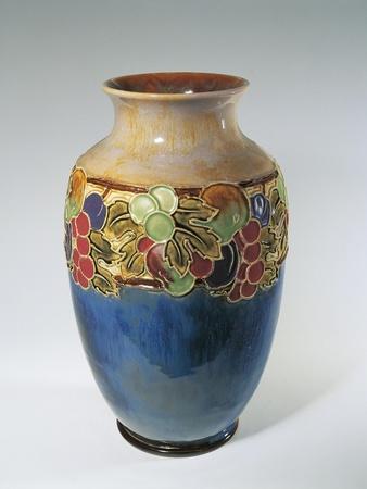 Porcelain Royal Doulton Vase--Giclee Print