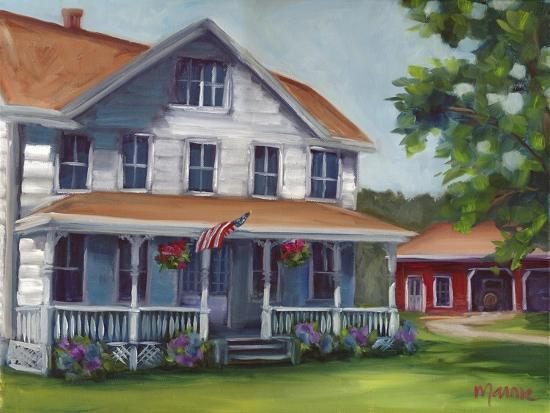 Porch Days-Marnie Bourque-Giclee Print