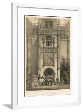 Porch, Montacute, Somerset-Joseph Nash-Framed Giclee Print