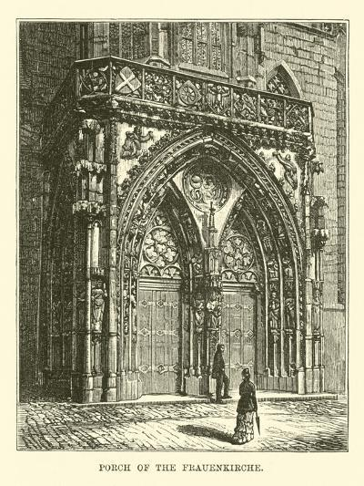 Porch of the Frauenkirche--Giclee Print