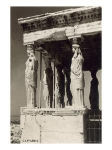Porch of the Maidens at the Acropolis
