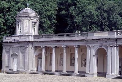 Porch on Main Facade of Seneffe Castle, 1763-1768-Laurentius Benedictus Dewez-Giclee Print