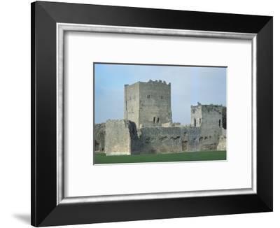Porchester Castle, Hampshire, 20th century-CM Dixon-Framed Photographic Print