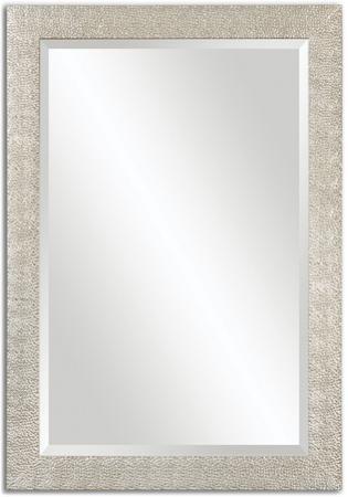 Porcius Antiqued Silver Mirror