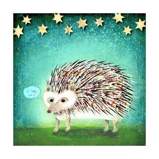 Porcupine for Thomas-Judy Verhoeven-Art Print