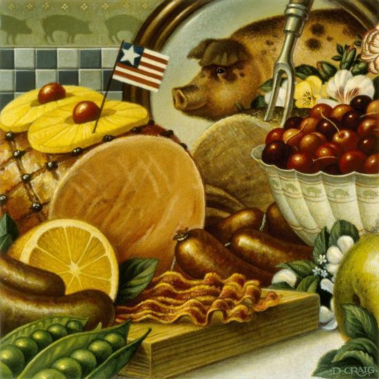 Pork Still Life-Dan Craig-Giclee Print