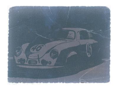 Porsche 356 Coupe Front-NaxArt-Art Print