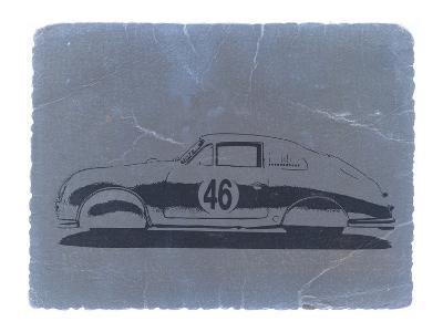 Porsche 356 Coupe-NaxArt-Art Print