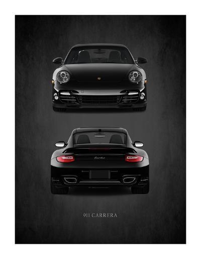 Porsche 911 Carrera Turbo-Mark Rogan-Giclee Print