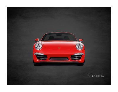 Porsche 911 Carrera-Mark Rogan-Giclee Print
