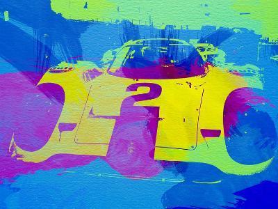 Porsche 917 Front End-NaxArt-Art Print