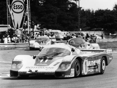 Porsche 956 Driven by Jacky Ickx and Derek Bell, 1982