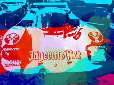 Porsche 956 Jagermeister-NaxArt-Art Print