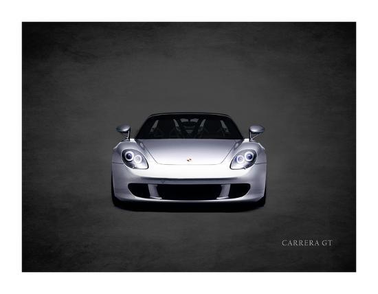 Porsche Carrera GT-Mark Rogan-Giclee Print