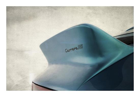 Porsche Carrera RS Tail-Mark Rogan-Giclee Print