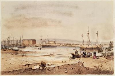 Port Adelaide, from the 'South Australia Illustrated', 1846-George French Angas-Giclee Print