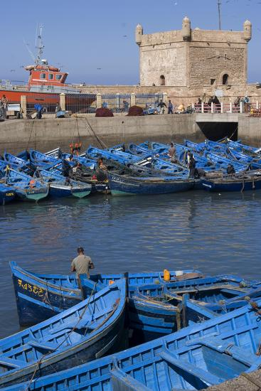 Port and Nearby, Essaouira, Morocco-Natalie Tepper-Photo