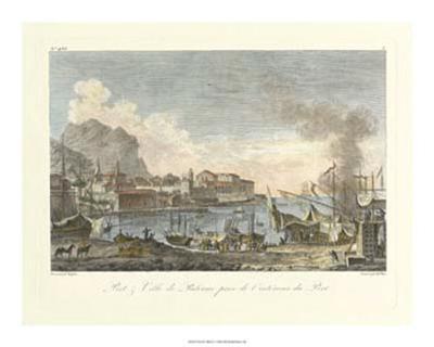 Port and Villa II--Giclee Print