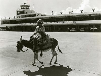 Port-Au-Prince Airport, Haiti, C.1965--Photographic Print