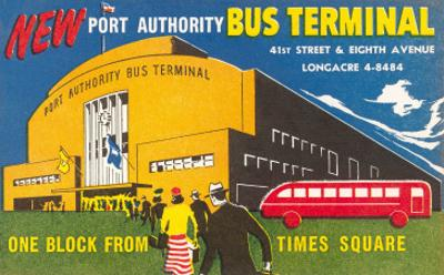 Port Authority Bus Terminal, New York City
