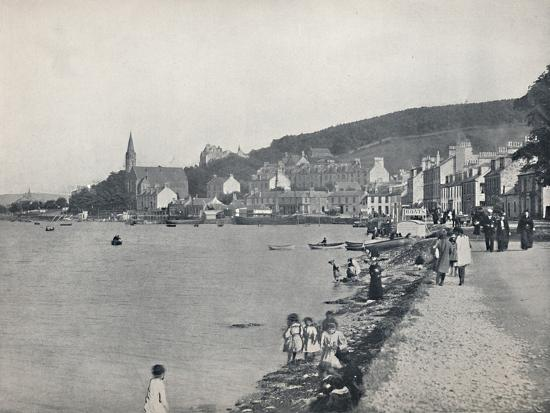 'Port Bannatyne - A Pleasant Walk', 1895-Unknown-Photographic Print