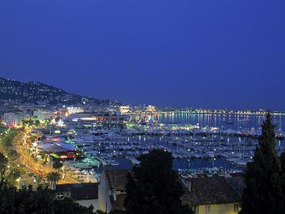 Port, Cannes, Cote d'Azur, France-Walter Bibikow-Photographic Print