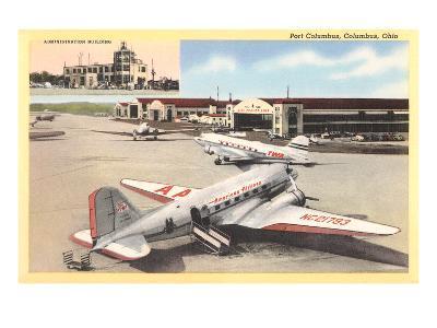 Port Columbus Airport--Art Print