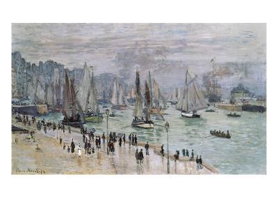 Port De Mer (Le Havre), 1874-Claude Monet-Giclee Print