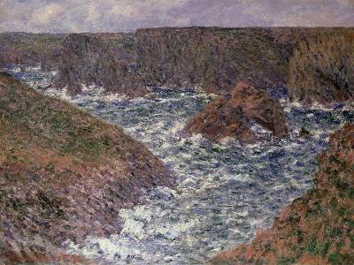 Port Domois at Belle Ile, 1886-Claude Monet-Giclee Print