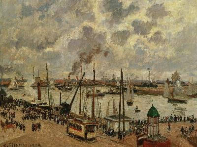 Port Du Havre, 1903-Camille Pissarro-Giclee Print