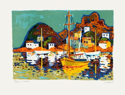Port En Espagne-Guy Charon-Limited Edition