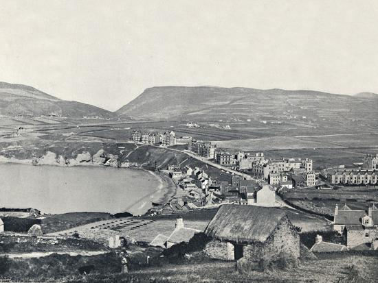 'Port Erin - Panoramic View of the Town and Its Vicinity', 1895-Unknown-Photographic Print