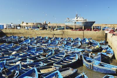 Port, Essaouira, Atlantic Coast, Morocco, North Africa, Africa-Jochen Schlenker-Photographic Print
