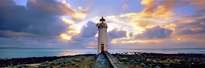 Port Fairy Lighthouse 3-Wayne Bradbury-Photographic Print