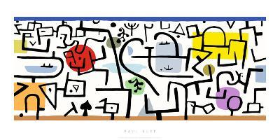 Port Florissant, c.1938-Paul Klee-Serigraph