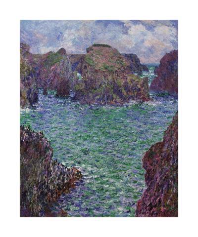 Port-Goulphar, Belle-Ile, 1887-Claude Monet-Premium Giclee Print
