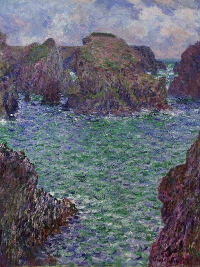 Port-Goulphar, Belle-Île, 1887-Claude Monet-Giclee Print