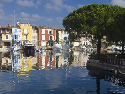 Port Grimaud, Nr St Tropez, Cote d'Azur, France-Peter Adams-Photographic Print