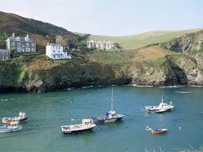 Port Isaac, Cornwall, England, United Kingdom-Adam Woolfitt-Photographic Print