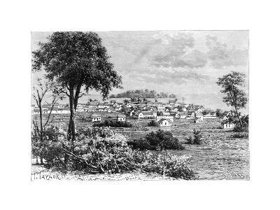 Port Limon and Uvas Island, C1890-A Kohl-Giclee Print