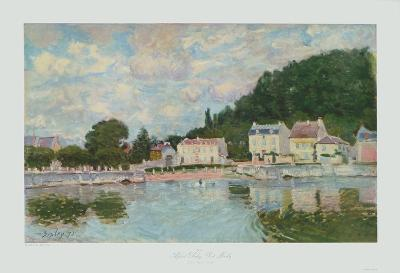 Port Marly-Alfred Sisley-Collectable Print