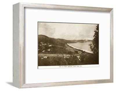 Port Moresby from Paga Hill - Papua New Guinea--Framed Photographic Print