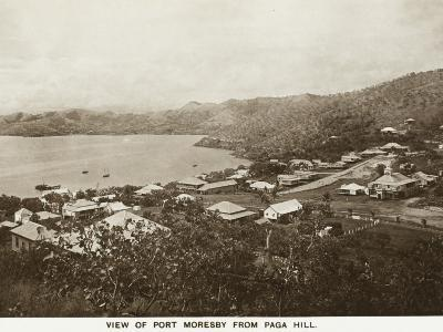 Port Moresby from Paga Hill - Papua New Guinea--Photographic Print