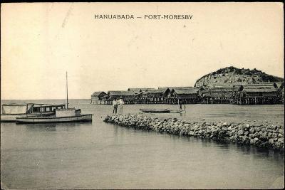 Port Moresby Hanuabada Papua Neu Guinea, Häuser--Giclee Print