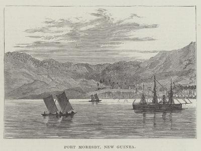 Port Moresby, New Guinea--Giclee Print